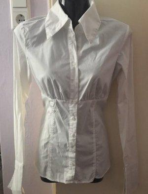 Tolles Hemd Bluse in weiß von Amisu Gr. XS Neu