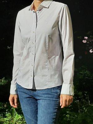 Bogner Jeans Blouse-chemisier blanc-violet