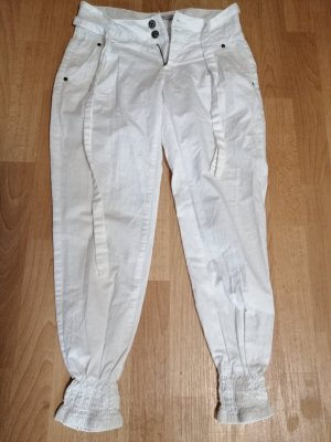 Fishbone Pantalon large blanc