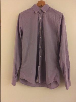 René Lezard Shirt met lange mouwen paars