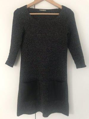 Orsay Vestido de lana negro-gris