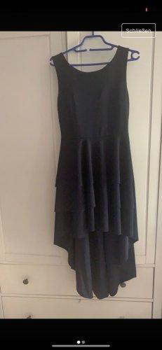 Robe bas asymétrique bleu foncé