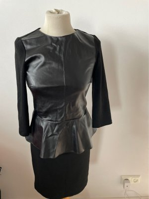 Hallhuber Peplum Dress black