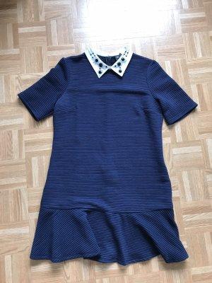 Asos Shortsleeve Dress dark blue-blue
