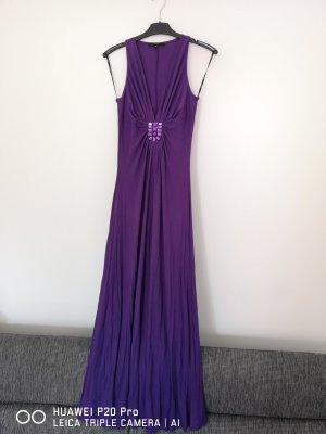 Tolles Kleid aus Italien dunkelviolett