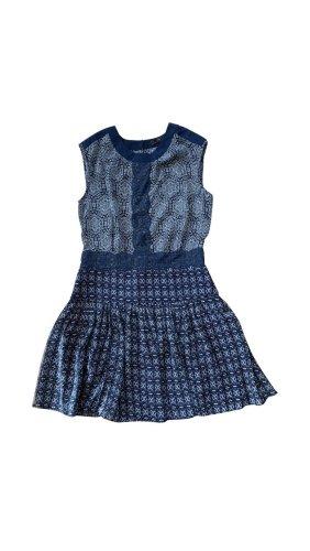 BCBG Maxazria Off-The-Shoulder Dress blue-dark blue