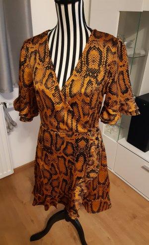 Tolles Kleid Gr. M/38 Schlangenoptik