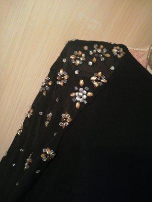 Tolles Kleid H&M schwarz Steine 36