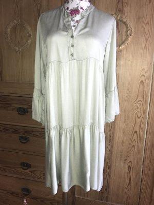 Made in Italy Robe mi-longue vert clair viscose