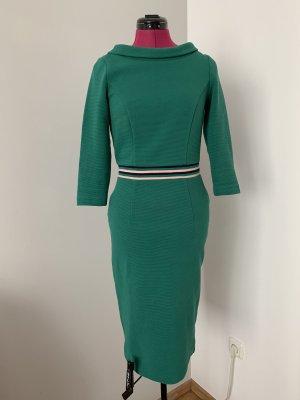 Tolles Kleid in Smaragdgrün, Gr. 36