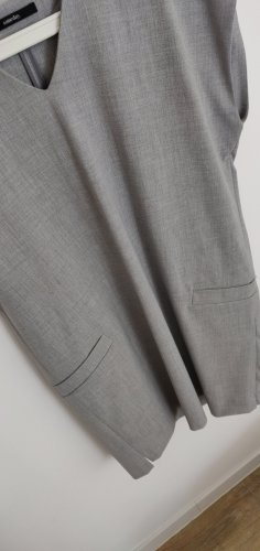 someday Sukienka tunika srebrny-jasnoszary