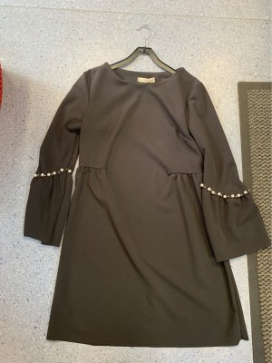 new collection Robe de cocktail noir-gris anthracite