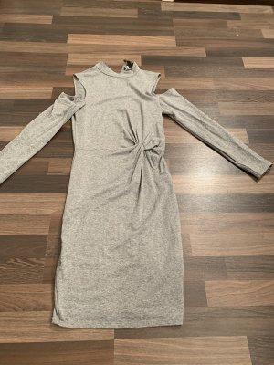 Amisu Robe à manches longues gris-gris clair
