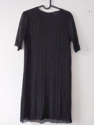 tolles Kleid• Plisseekleid • Abendkleid • schwarz/ glitzer • Größe 34