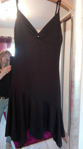 Vestido tipo overol negro