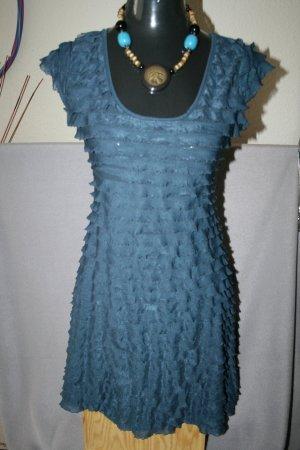 tolles Kleid von Clockhouse Gr. 38 in petrol