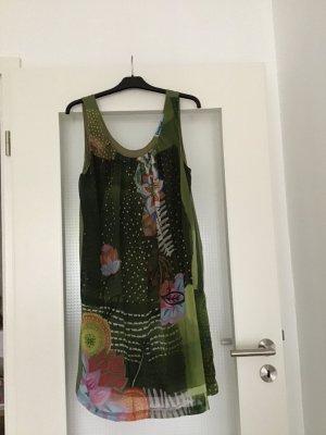 Desigual Chiffon Dress multicolored polyester