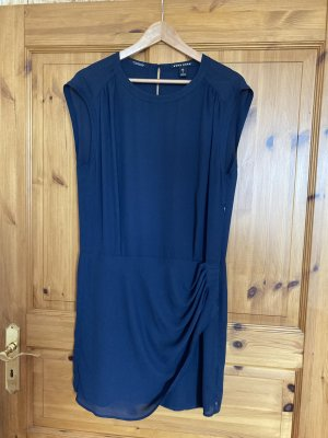 Tolles Kleid von Maison Scotch in Dunkelblau Gr. 2 (ca. M 38)