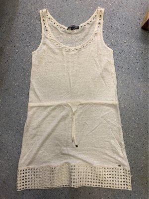 Tommy Hilfiger Robe en maille tricotées blanc