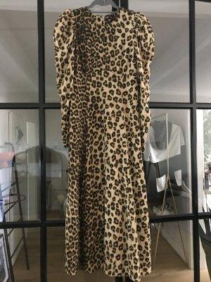 Tolles Kleid von Zara in Leo-Print. Neu ohne Etikett.