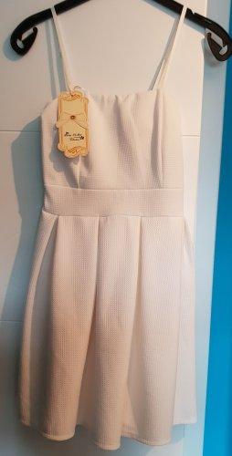 Tolles Kleid weiß von Melis - Gr. S - 34 - Neu!