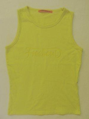 Free Soul Muscle Shirt yellow