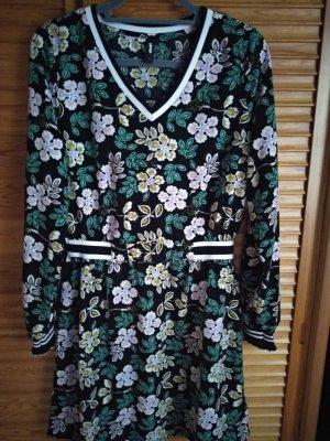 tolles knielanges Kleid mit Blütendruck