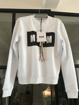 Tolles Logo-Sweatshirt von MSGM. Neu mit Etikett.