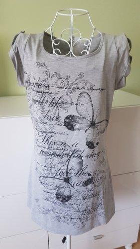 Tolles Long Shirt mit Print Gr. 36