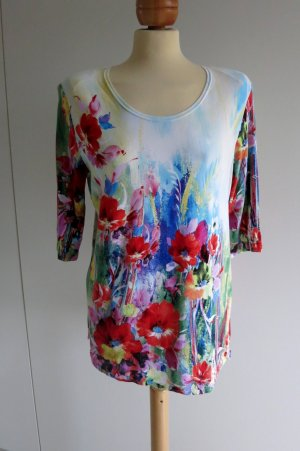 Long Shirt multicolored viscose