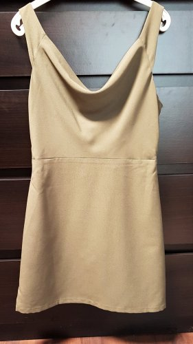 Asos Petite Mini Dress khaki