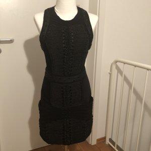 Balmain for H&M Robe courte noir velours