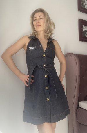 Boutique Moschino Midi Dress dark blue