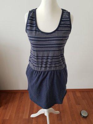 Alife & Kickin T-shirt jurk donkerblauw