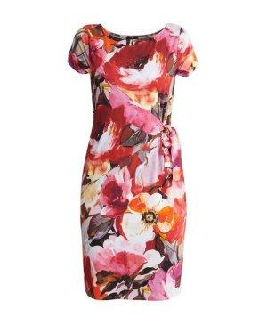 Monari Summer Dress multicolored viscose