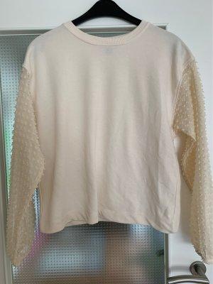 Primark Sweatshirt blanc cassé