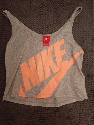 tolles Nike crop Top S grau sommer