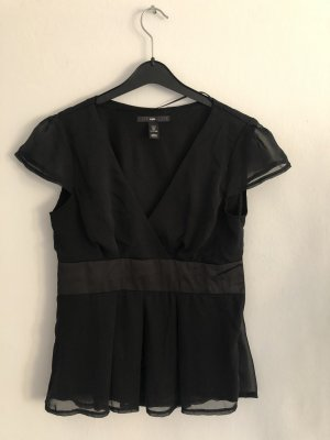 Tolles Oberteil H&M schwarz, Größe 38