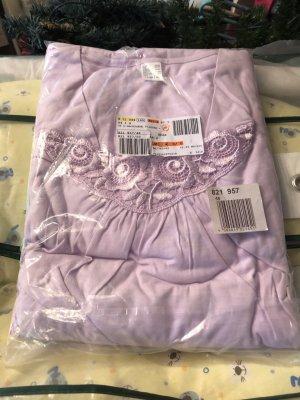 Piżama liliowy