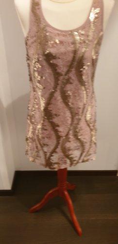 Dept Sequin Dress rose-gold-coloured