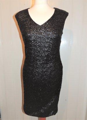 Tolles Paillettenkleid von Yessica C&A Größe 40 in schwarz