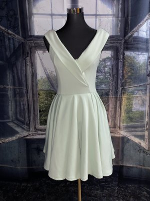 Club L Petticoat Dress sage green