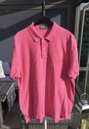 Ralph Lauren Camiseta tipo polo magenta