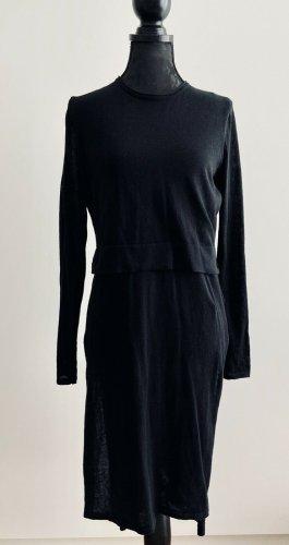 Zara Sweater Dress black mixture fibre