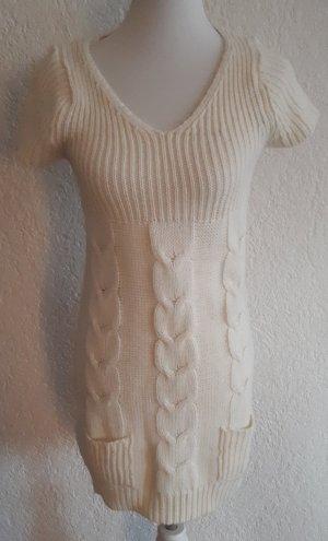 Esmara Swetrowa sukienka w kolorze białej wełny