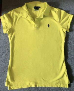 Tolles Ralph Lauren Polo Shirt Stickerei in neon Gr. S Neu