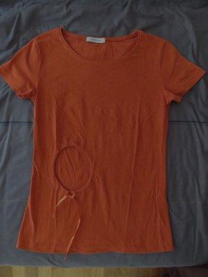 Tolles Rene Lezard T-Shirt Gr. S orange nicht knallig NEU o.E.