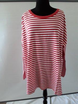 BC Collection Camicia oversize bianco-rosso Cotone