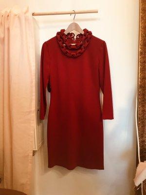 Diane von Fürstenberg Robe crayon rouge brique