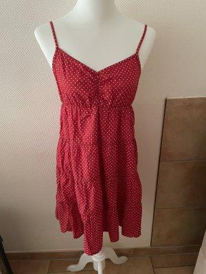 Tolles rotes Sommerkleid
